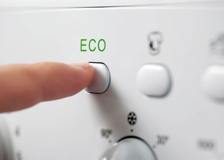 eco-friendly appliance in green home